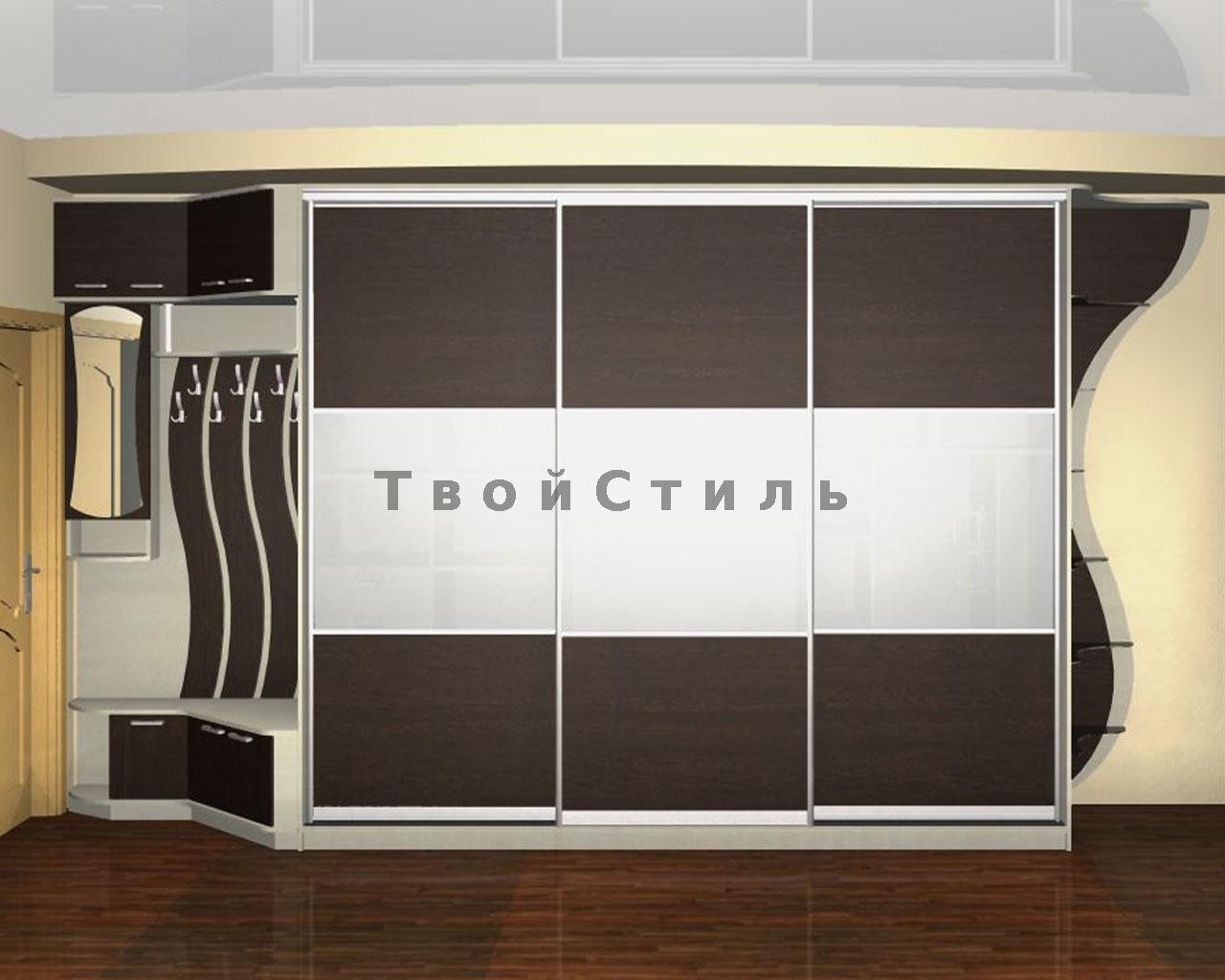 Шкафы-купе в прихожую на заказ зеленоград, сходня, москва.